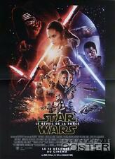 STAR WARS THE FORCE AWAKENS - LUCAS - ORIGINAL REGULAR SMALL FRENCH MOVIE POSTER