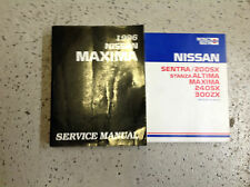 1996 Nissan Maxima Service Repair Shop Manual Set W Product Bulletins Book x