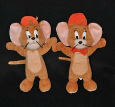 Lot 2 Peluche Doudou Souris Jerry FERRERO SPA ALBA Casquette Tom & Jerry 20 Cm