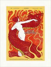 Page de titre du numéro 48 de 1898 Hans Christiansen dragon femme acte de la jeunesse 3151