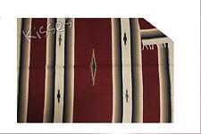 LARGE Diamond Serape Southwestern Mexican Blanket Horse Saddle Yoga Sarape Rug