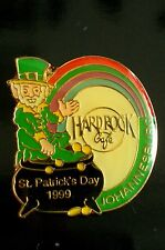HRC Hard Rock Cafe Johannesburg St Patricks Day 1999 Logo LE500