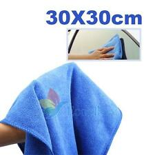 A#S0 Microfiber Towel Car Dry Cleaning Glass Window Clean Wash Absorbant Cloth