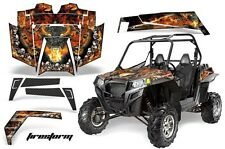 Yamaha Rhino 04-12 700/660/450 UTV Graphic Kit Wrap AMR Vinyl Decal Firestorm