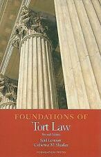 Foundations of Tort Law (Foundations of Law)-ExLibrary