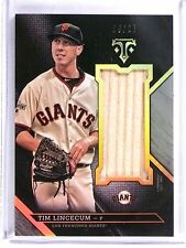 2016 Topps Triple Threads Unity Silver Tim Lincecum Bat #D09/27 #UJRTLN *57944