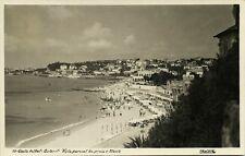 portugal, Costa do Sol, ESTORIL, Vista Parcial de Praia e Monte (1948) RPPC