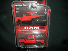 GREENLIGHT 1/64 HOBBY EXCLUSIVE RED 2017 DODGE RAM 2500 POWER WAGON
