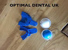 Dental Impression Material PUTTY con Superiore e Inferiore VASSOI UK Venditore