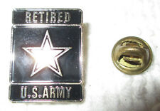 Haunted Paranormal Object Military Retired US Army Pin Spirit Lucky Wealth