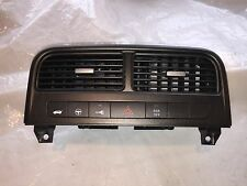FIAT GRANDE PUNTO T-JET HEATER VENT & ASR SWITCH PANEL MET GREY CHROME KNOBS
