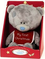 "#R123 ♥ NEW Me To You 9"" Tiny Tatty Bear with 'My 1st Christmas' ♥"