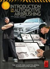 Introduction To Automotive Kustom Airbrushing DVD Craig Fraser Airbrush Action