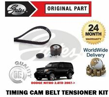 Per DODGE NITRO Diesel 2.8 CRD 9/2007 -- & gton NUOVO Timing Cam Belt + KIT tensionatore