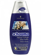 Schwarzkopf Schauma Silver Reflex Shampoo 250ml 8.45 fl oz For Grey White Hair