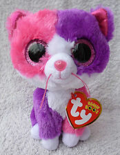 Rare Ty Beanie Boos/Boo Soft Plush Toy Pellie Cat Claires Exclusive MWMT MINT 6""
