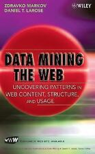 Data Mining the Web: Uncovering Patterns in Web Content, Structure, an-ExLibrary
