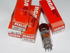 Quad rca 6BJ8 nos usa valve tubes