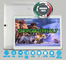 10 INCH TABLET 4G LTE OCTA CORE 4GB RAM 64GB ROM 6 ANDROID DUAL SIM GPS WIFI