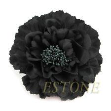Flower Peony Hair Clips Wedding Bridal Bridesmaid Prom Festival Hairpin Brooch