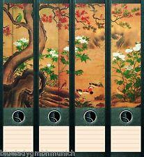 File Art 4x Ordner-Etiketten ● PARAVENT ● RÜCKENSCHILDER Sticker 004