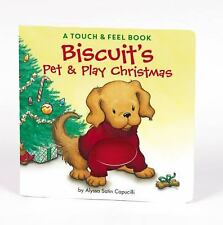 Biscuit's Pet & Play Christmas: A Touch & Feel Book Capucilli, Alyssa Satin Boa