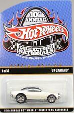 Hot Wheels 10th Nationals -'67 Camaro, White, Black roof, #1389/2400