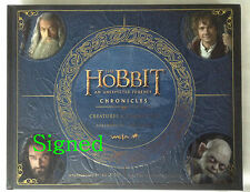 SIGNED -The Hobbit: An Unexpected Journey, Chronicles: Creatures & Characters