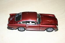 DANBURY MINT1964 ASTON MARTIN DB5 DUBONNET RED