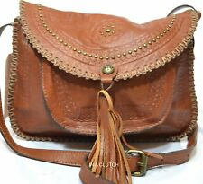NWT PATRICA NASH LUGGAGE LEATHER  BEAUMONT FLAP  MSRP $169.00 #206M