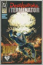 Deathstroke : The Terminator #20 : Vintage DC comic book from March 1993