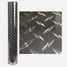 24'' x 10' DIAMOND PLATE SELF ADHESIVE VINYL- INDOOR / OUTDOOR DURABILITY