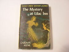 Nancy Drew #4, Mystery at Lilac Inn, Early  Picture Cover