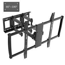 Full Motion TV Mount Bracket Swivel 60 62 65 70 75 80 90 100 inch LED LCD Flat