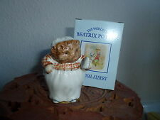 """Beatrix Potter Royal Albert """"Mrs TIGGY-WINKLE"""" Figurine BP6A New Condition Boxed"""