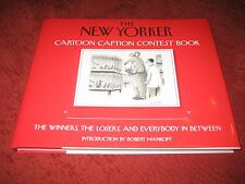 The New Yorker Cartoon Caption Contest Book by ROBERT MANKOFF (HD) 1ST PRT