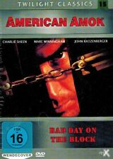 DVD NEU/OVP - American Amok - Bad Day On The Block - Charlie Sheen