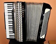 HOHNER ATLANTIC IV de Luxe fisarmonica GERMANY accordion 120 BASS CON VALIGETTA