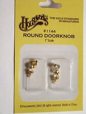 Dollhouse Houseworks Hardware Brass Crystal Door Knob HW1144