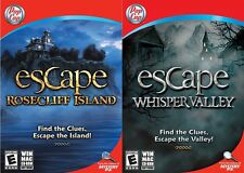 PopCap Escape Rosecliff Island & Whisper Valley Find the Clues, PC/MAC COMBO PK