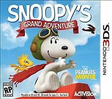 Snoopy's Grand Adventure  Nintendo 3DS game  NEW