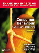 Consumer Behaviour: A European Perspective: Enhanced Media Ed by Michael R. Sol…
