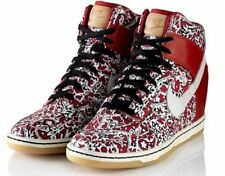 Nike Liberty of London Dunk Sky LIB Lagos US 6 UK 3.5 Red Floral Shoes Sneakers