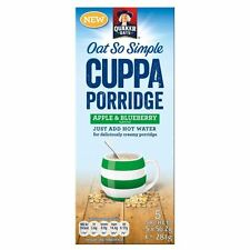Quaker Oats So Simple Cuppa Porridge - Apple & Blueberry (5 per pack - 281g)