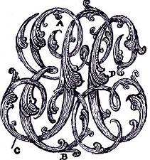 1898 MANUAL pocket watch maker jeweler LETTER ENGRAVING