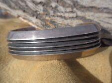 Vintage Native American Tom Hawk Sterling Silver Cuff Bracelet Mens Womens 44g