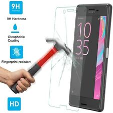 100% Genuine Tempered Glass Screen Protector Protection For Sony Xperia X