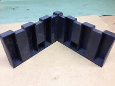 05-10 VW Jetta Sedan CarGo Trunk Blocks Holders Protection System OEM Used