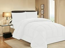 Black Soft Goose Down Alternative Comforter Set , Twin , Queen , King Size