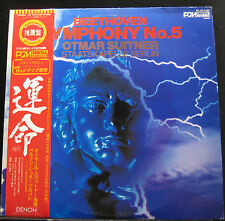 Otmar Suitner - Beethoven - Symphony No. 5 LP Mint- OF-7013-ND Japan Record OBI
